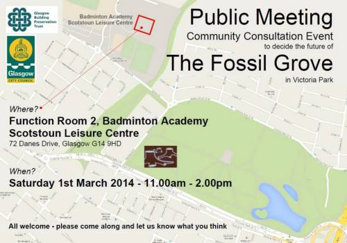 Consultation on the future of Fossil Grove, Glasgow